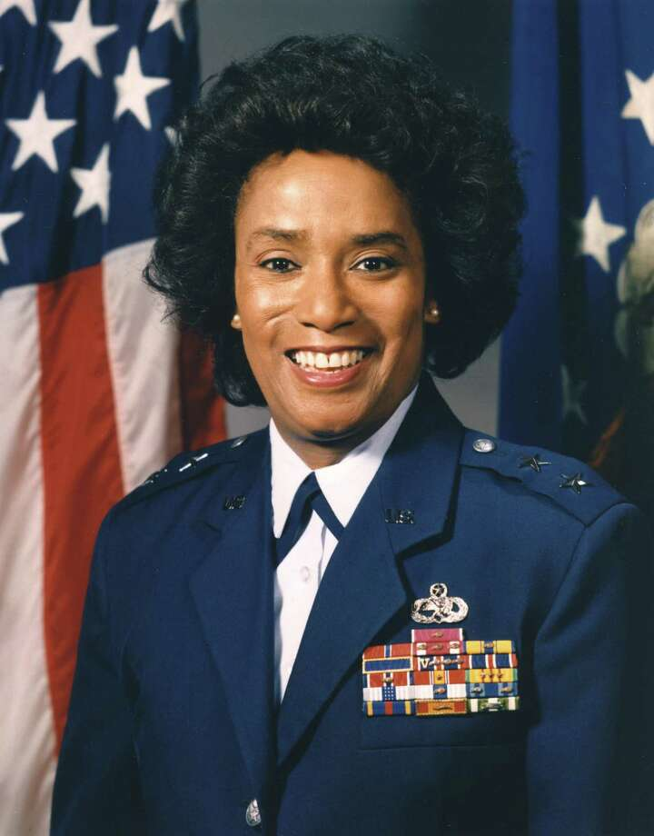 Marcelite Jordan Harris was the U.S.' first African-American woman to be amajor general. Photo: Courtesy Of The U.S. Air Force