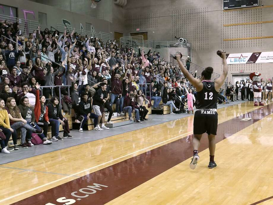Lashea Rolle and the Dustdevils women's basketball team will be in Colorado this weekend trying to fix its defensive issues playing Colorado School of Mines and Regis. Photo: Cuate Santos /Laredo Morning Times File / Laredo Morning Times