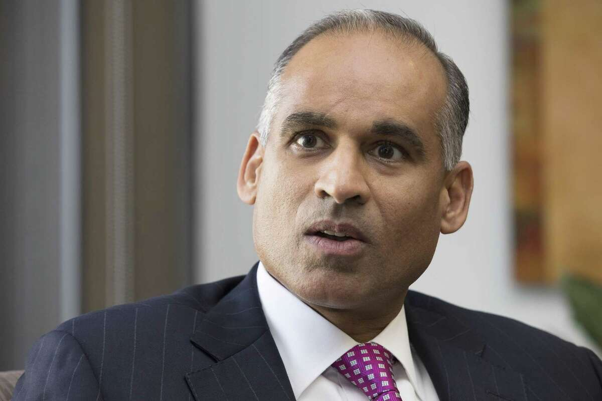 LyondellBasell Industries CEO Bob Patel wants his company to be a leading force in curbing pollution as part of a cross-industry initiative to end plastic waste. ( Yi-Chin Lee / Houston Chronicle )