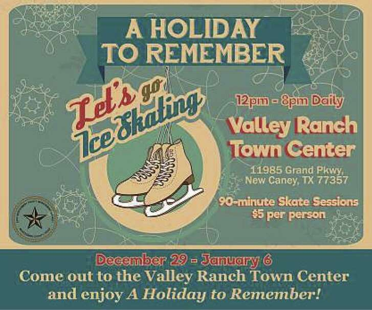 """EMCID wants to make this """"A Holiday to Remember"""" when the ice skating rink opens on Dec. 29 from noon to 8 p.m. and operates daily at that time through the New Year until Jan. 6."""