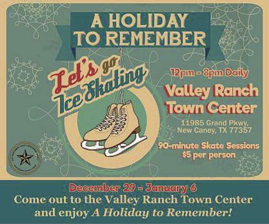 "EMCID wants to make this ""A Holiday to Remember"" when the ice skating rink opens on Dec. 29 from noon to 8 p.m. and operates daily at that time through the New Year until Jan. 6."