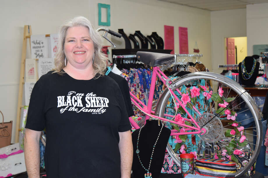 Diana Farmer, owner of Diana's Traveling Boutique, got her start in business from selling merchandise from within a trailer. Photo: Ellysa Harris/Plainview Herald