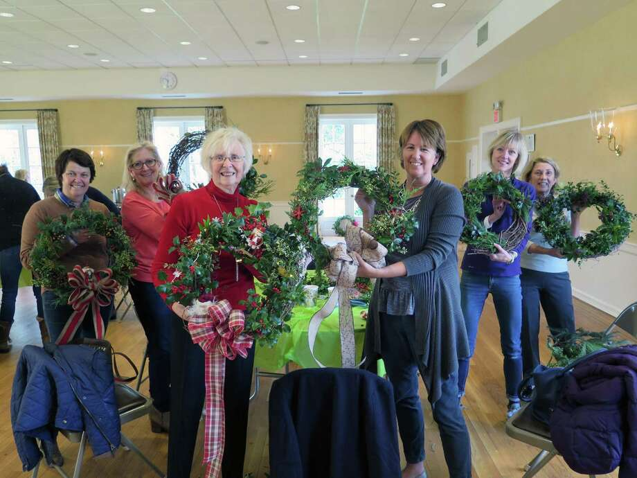 Members of the DCA's Greenhouse Group will be hosting a holiday greens wreath workshop on Nov. 29 at 9:30 a.m. Photo: Contributed Photo