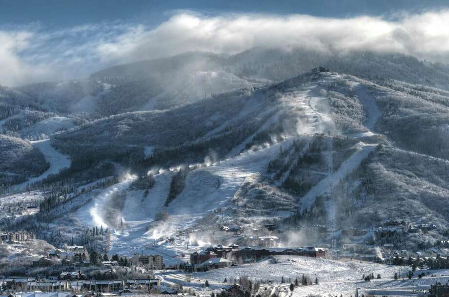 Each winter, the mountain town of Steamboat, tucked away in Colorado's northwest corner, welcomes roughly 20,000 visitors from Texas. Photo: Larry Pierce / Steamboat Ski Resort