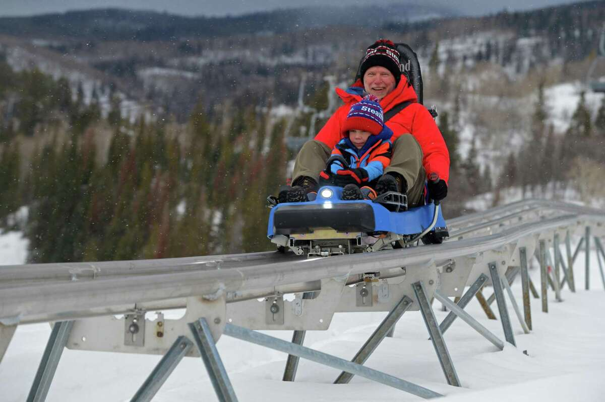 In Steamboat, the newly installed Outlaw Mountain Coaster, the longest coaster in North America at more than 6,280 feet, replicates the thrill of downhill ski racing or rodeo barrel racing.