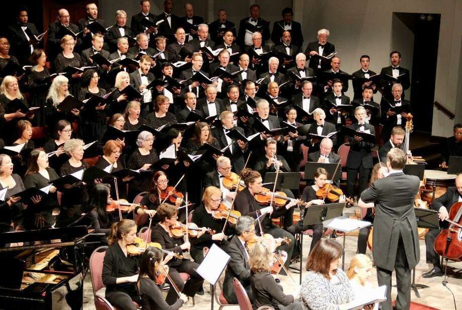 "The Houston Choral Society presents ""A Glorious Christmas"" at 7:30 p.m. Saturday, Dec. 1, at The Foundry Church, at 8350 Jones Road, Houston, TX 77065. Photo: Houston Choral Society / Houston Choral Society"