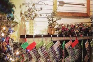 Stockings from Peacecycle, Haiti