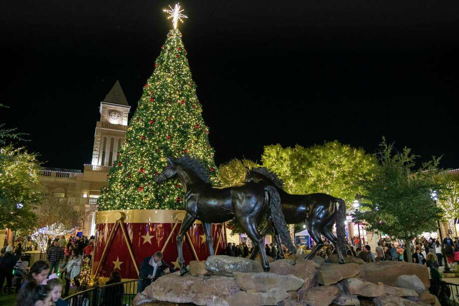 Texas Children Hospital-West Campus will present the Tree Lighting Celebration at LaCenterra at Cinco Ranch, 23501 Cinco Ranch Blvd., from 6-9 p.m. Nov. 22. The Katy tradition includes Santa's arrival, family activities, live entertainment and lighting of a 51-foot tall Christmas tree. Photo: LaCenterra At Cinco Ranch / LaCenterra At Cinco Ranch / Ted Washington