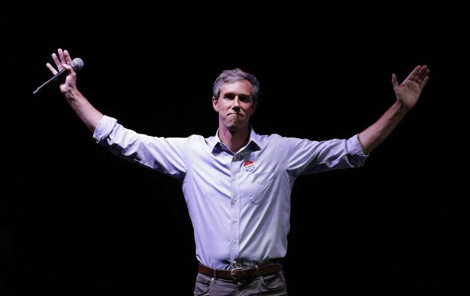 In this Nov. 6, 2018, file photo, Rep. Beto O'Rourke, D-Texas, the 2018 Democratic Candidate for U.S. Senate in Texas, makes his concession speech at his election night party in El Paso. Photo: Eric Gay, STF / Associated Press / Copyright 2018 The Associated Press. All rights reserved