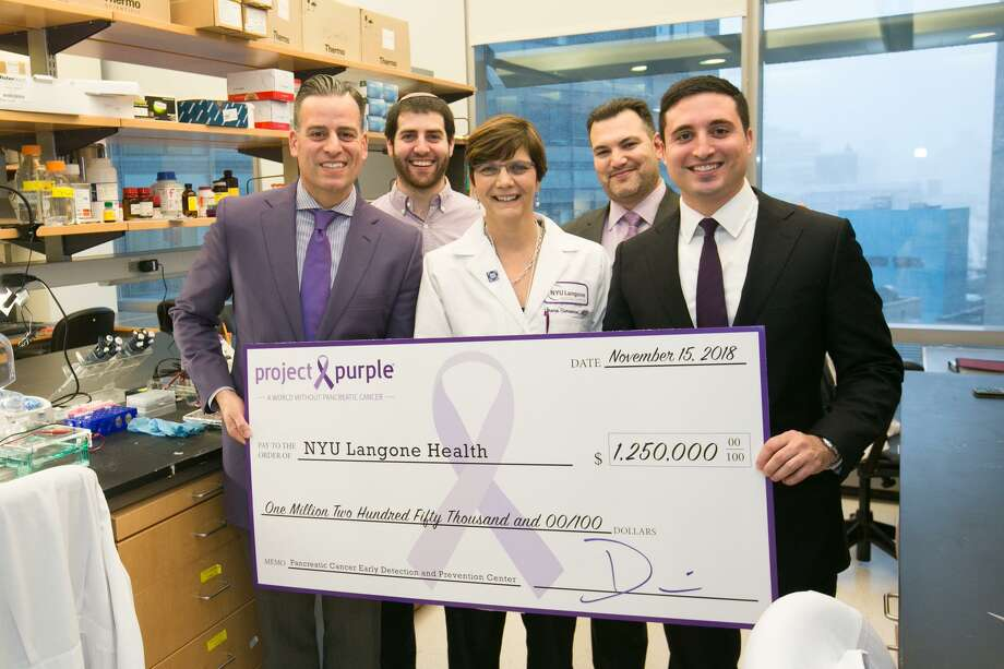 Project Purple donates $1 2 million to NY hospital for pancreatic