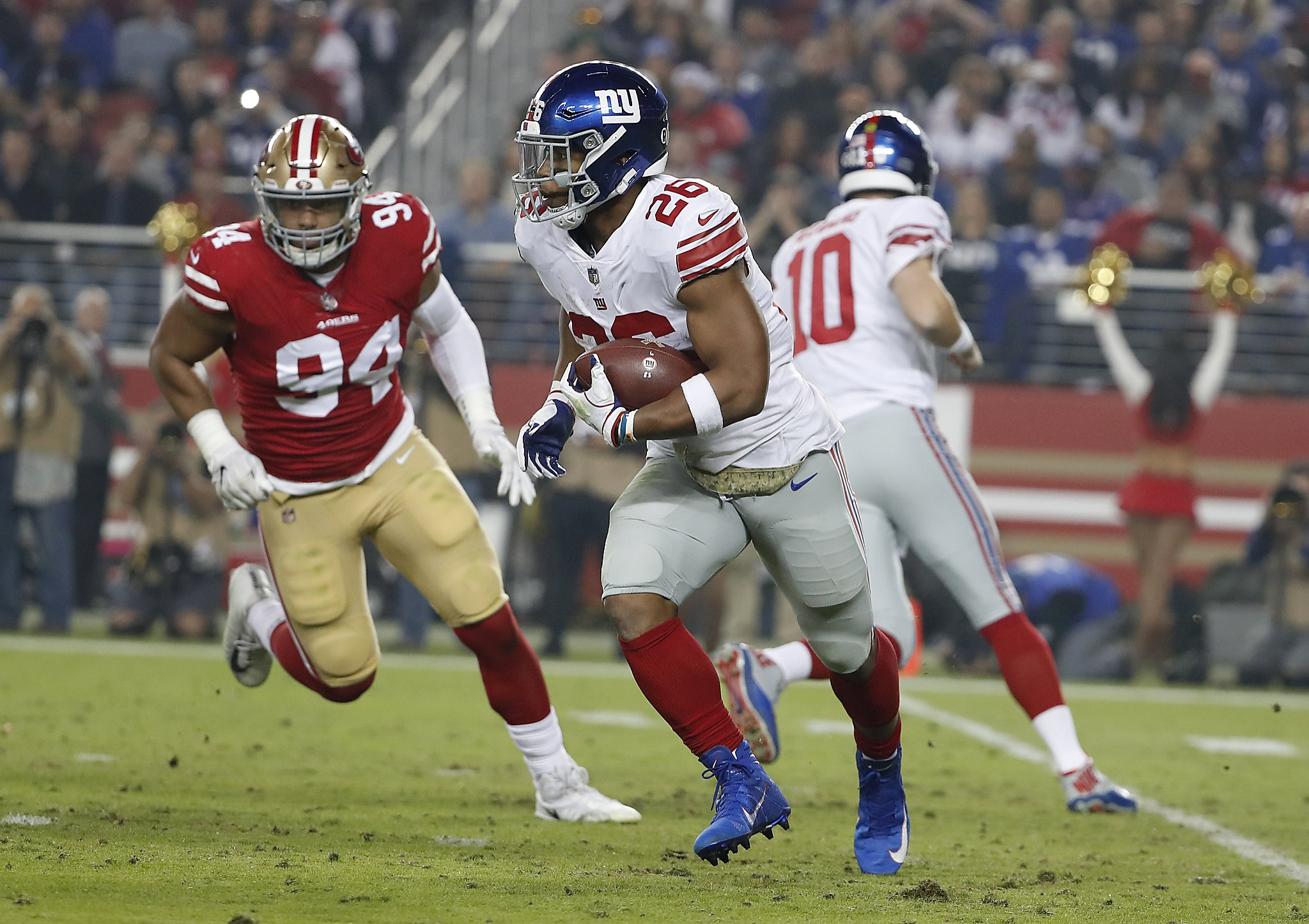 3bab7c093 49ers preaching patience with Solomon Thomas - SFChronicle.com