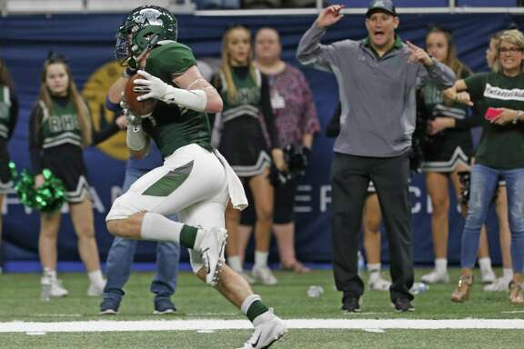 Reagan receiver Konner Fox caught 46 passes for 811 yards and nine touchdowns for the Rattlers, who advanced to the Class 6A Division I second round before falling to Judson.