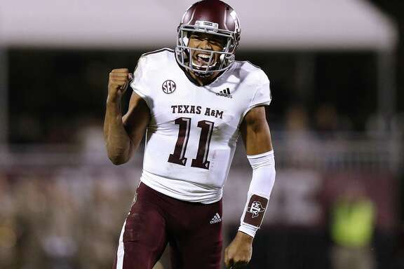 Quarterback Kellen Mond leads No. 22 Texas A&M against No. 7 LSU in a battle for second place in the SEC's West Division. The Aggies are 0-7 against the Tigers since joining the SEC.