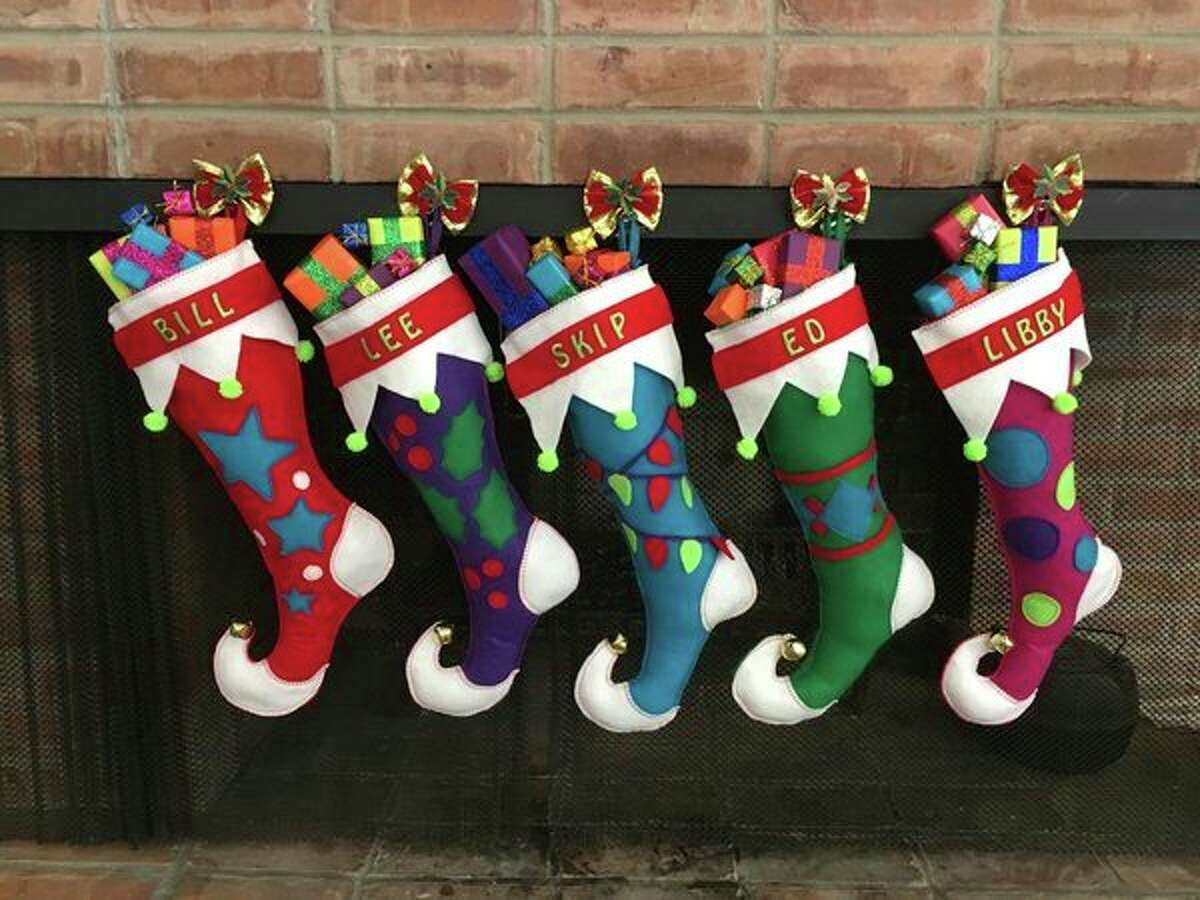 'The Pedersons built this house and raised their family here so we put their names on the stockings,' Teri said. 'We thought it was a great way to honor them.' (photo provided)