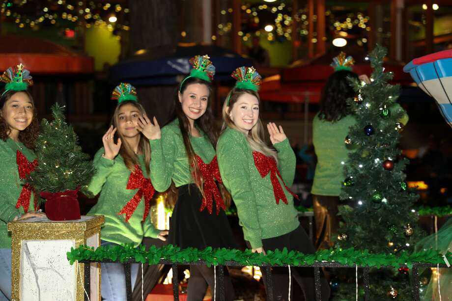 San Antonio's official start of the holiday season was marked Friday, Nov. 23, 2018 with the Ford Holiday River Parade and H-E-B Christmas Tree Lighting. Floats, like ones from Grand Marshal Joe Straus and the Spurs, drew cheers along the 2 1/2 mile route. Photo: Marco Garza, For MySA.com