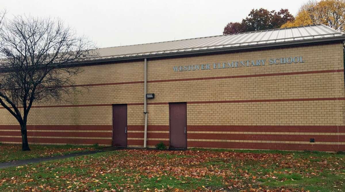 Westover Magnet Elementary School in Stamford, Conn. on Nov. 6, 2018