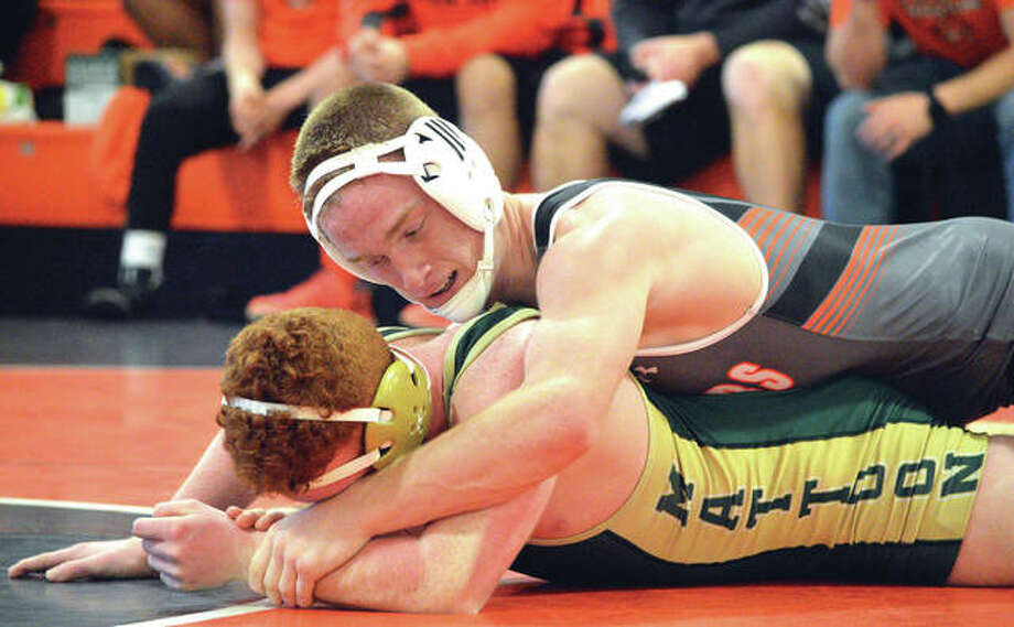 WRESTLING: Tigers pick up two more wins at Edwardsville ...