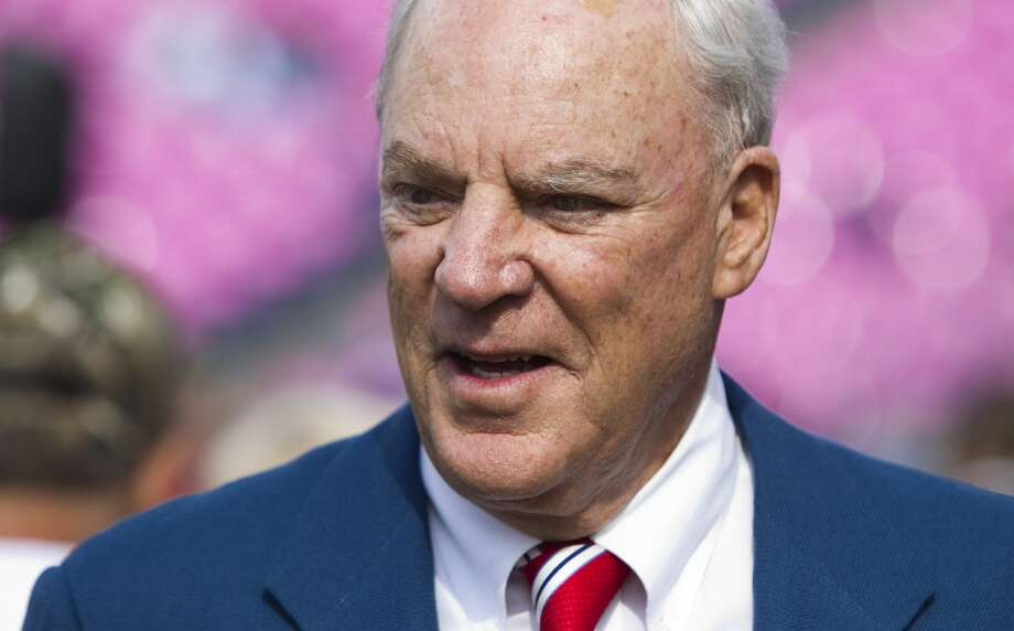 Texans founder Bob McNair, who died in late November, will be honored at a memorial service Friday at NRG Stadium. Photo: Brett Coomer/Houston Chronicle