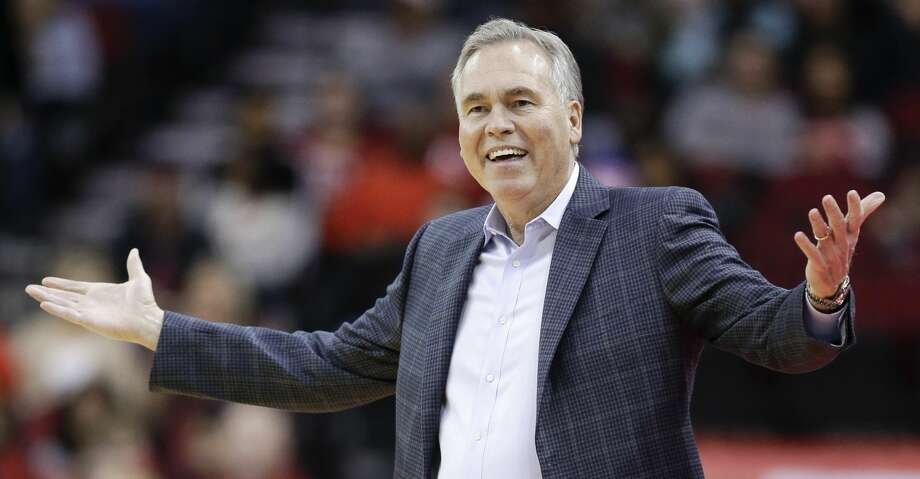 PHOTOS: Rockets game-by-game Houston Rockets coach Mike D'Antoni reacts after a foul was called on the team during the first half of an NBA basketball game against the Detroit Pistons, Wednesday, Nov. 21, 2018, in Houston. (AP Photo/Eric Christian Smith) Browse through the photos to see how the Rockets have fared in each game this season. Photo: Eric Christian Smith/Associated Press