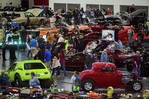The 59th Annual AutoRama has returned to Houston with more than 500 vehicles, Saturday, Nov. 24, 2018, in Houston.