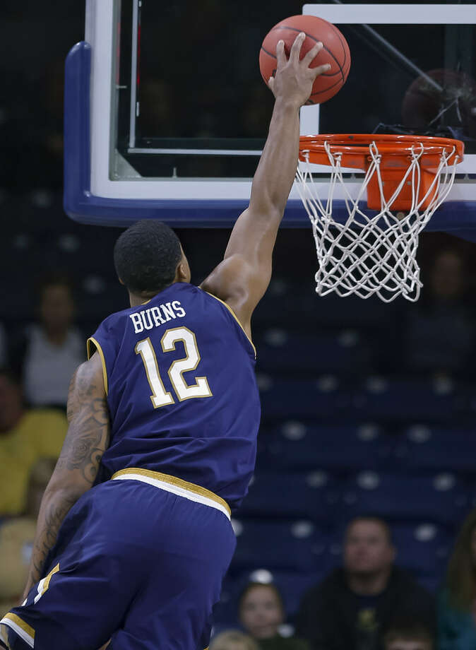 Notre Dame transfer Elijah Burns of Troy could be dunking for Siena as soon as Dec. 18, if his NCAA waiver is approved. (Michael Hickey/Getty Images) Photo: Michael Hickey/Getty Images