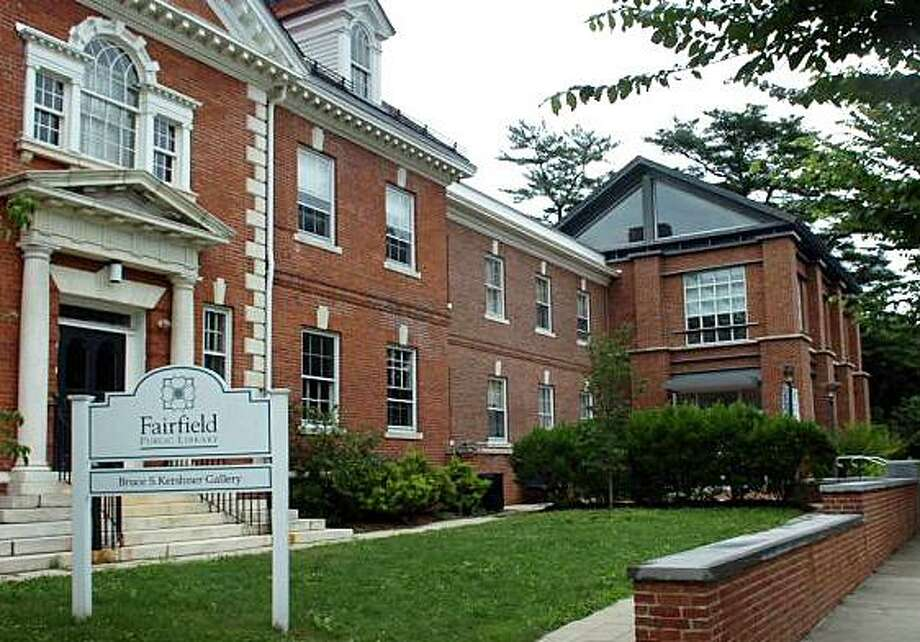 The main branch of the Fairfield Public Library, 1080 Old Post Road, will be closed until at least Tuesday, Nov. 27, 2018, due to a burst pipe in the facility. Photo: File Photo / File Photo / Fairfield Citizen