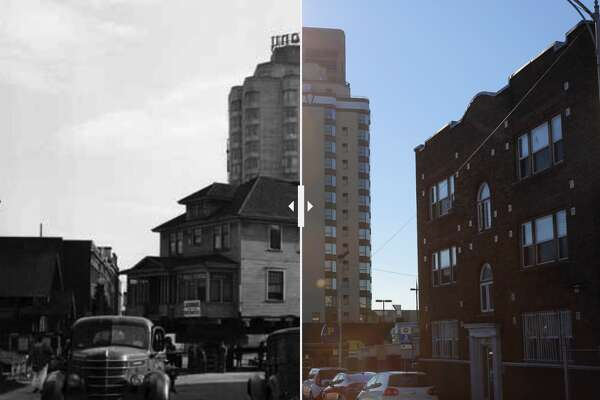 The Hotel Deca, then and now.