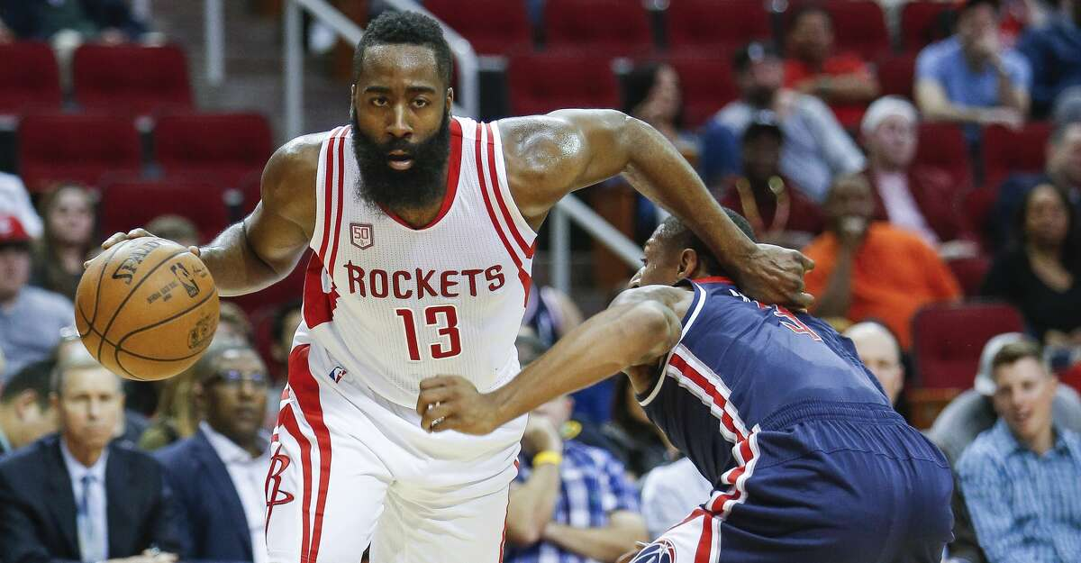 PHOTOS: Rockets game-by-game Houston Rockets guard James Harden (13) makes a move around Washington Wizards guard Bradley Beal (3) as the Houston Rockets take on the Washington Wizards at the Toyota Center Monday, Jan. 2, 2017 in Houston. ( Michael Ciaglo / Houston Chronicle ) Browse through the photos to see how the Rockets have fared in each game this season.