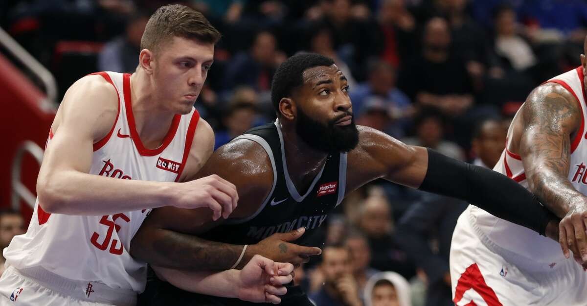 PHOTOS: Rockets game-by-game Detroit Pistons center Andre Drummond (0) and Houston Rockets forward Isaiah Hartenstein (55) battle for the rebound during the first half of an NBA basketball game, Friday, Nov. 23, 2018, in Detroit. (AP Photo/Carlos Osorio) Browse through the photos to see how the Rockets have fared in each game this season.