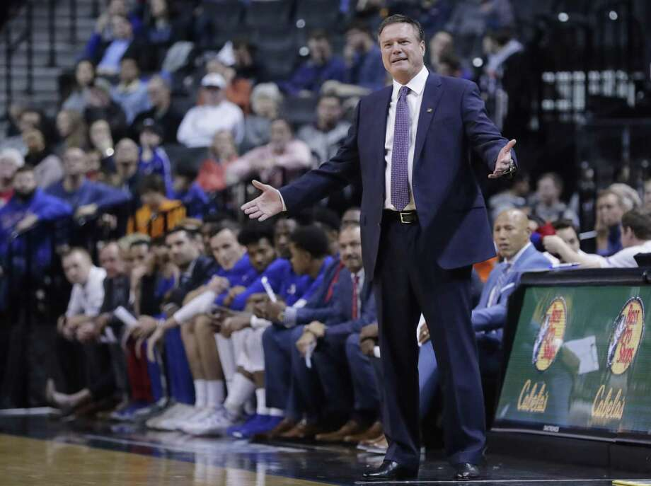Kansas coach Bill Self. Photo: Frank Franklin II / Associated Press / Copyright 2018 The Associated Press. All rights reserved.