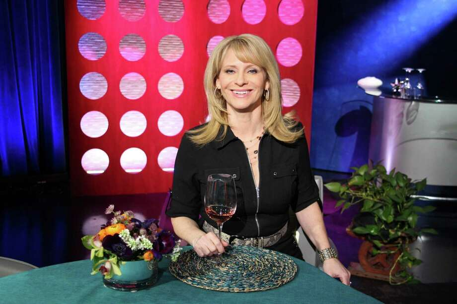 Leslie Sbrocco, a wine expert, doesn't get to give her own opinions on the show, which features three guests each episode who visit restaurants anonymously and offer their views on the air. Photo: KQED-TV / ONLINE_YES