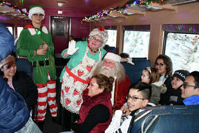 Families kicked off the unofficial start to the holiday season on Sunday, November 25, 2018 when they boarded the Santa Express train at the New England Railroad Museum in Thomaston, Conn. Children met with Santa Claus, sang Christmas Carols and enjoyed hot chocolate and gifts. Were you SEEN?