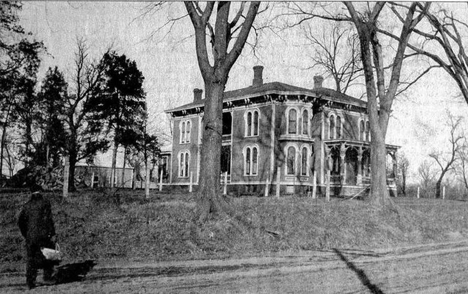 A descendant of Yorkshire immigrants, Peter D. Richardson, built this Italianate-style house a short distance east of Wesley Chapel, west of Jacksonville, in 1883. The house, which was demolished in 1951, had 11 rooms on the first and second floors, five porches and 64 windows.