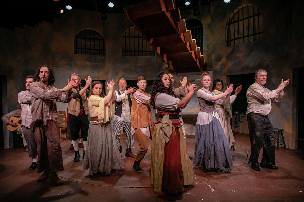 """""""Man of La Mancha"""" is onstage at TheatreWorks New Milford, Dec. 7 through Jan. 5."""