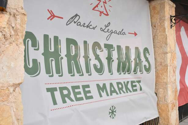 Parks Legado Christmas Tree Market opened for its first season over the weekend.