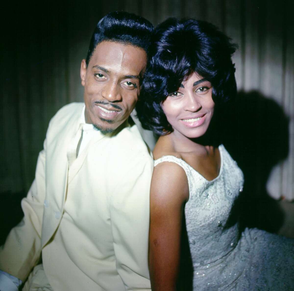 Circa 1963: Husband-and-wife R&B duo Ike & Tina Turner pose for a portrait. (Photo by Michael Ochs Archives/Getty Images)
