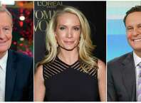 "This combination of photos shows Fox News Channel personalities, from left, Steve Doocy, Dana Perino and Brian Kilmeade. Doocy will host a cooking show, tied to a cookbook he's releasing, Perino will have a book club highlighting new releases and Kilmeade, a history buff, will host a show called, ""What Makes America Great,"" on the new streaming service Fox Nation, that launches Tuesday."