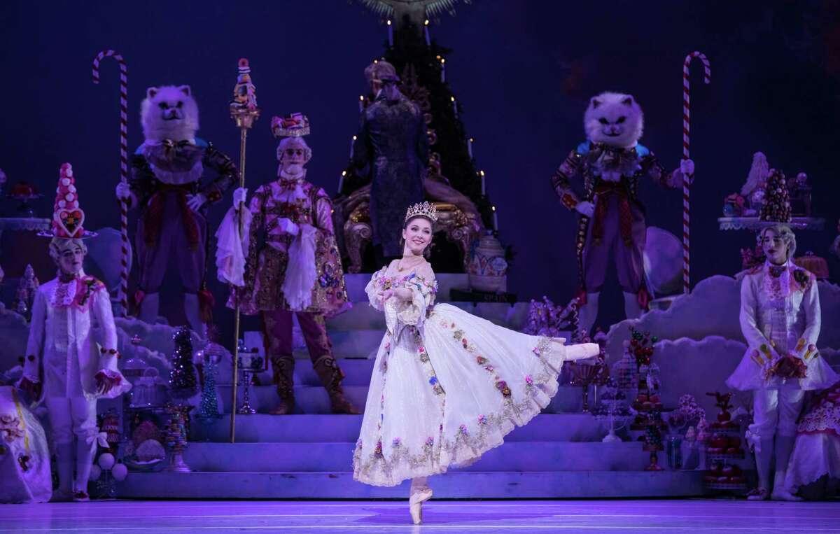 Houston Ballet principal Melody Mennite as Clara in Stanton Welch's