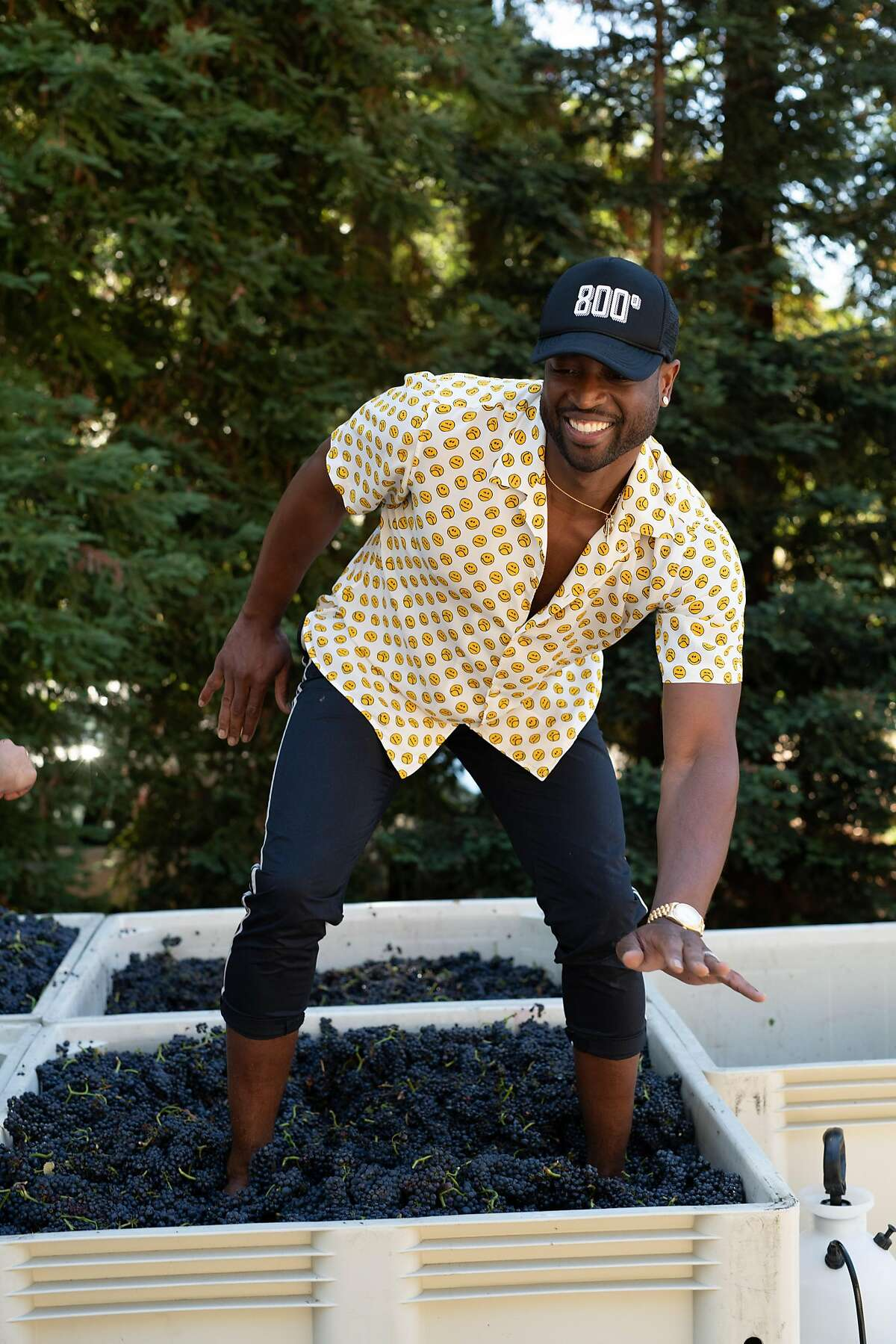 NBA star Dwyane Wade owns D Wade Cellars in partnership with Napa's Pahlmeyer family.