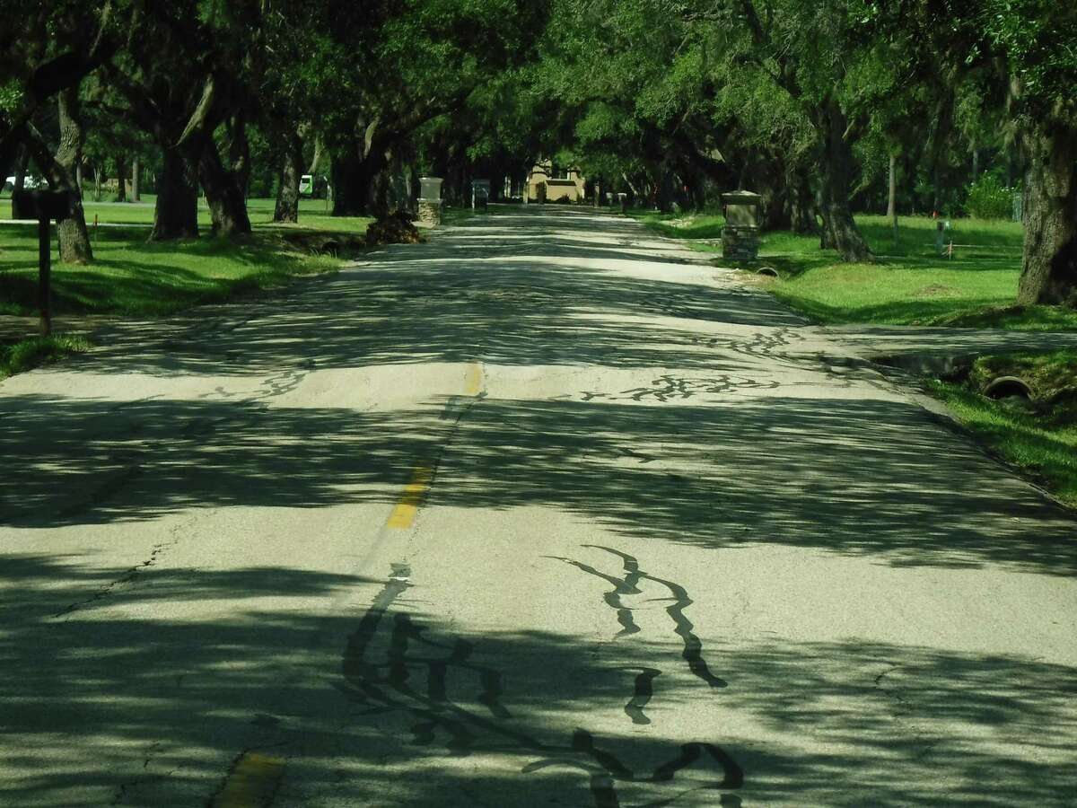 East Viejo Road was showing wear before a city of Friendswood project upgraded the street.