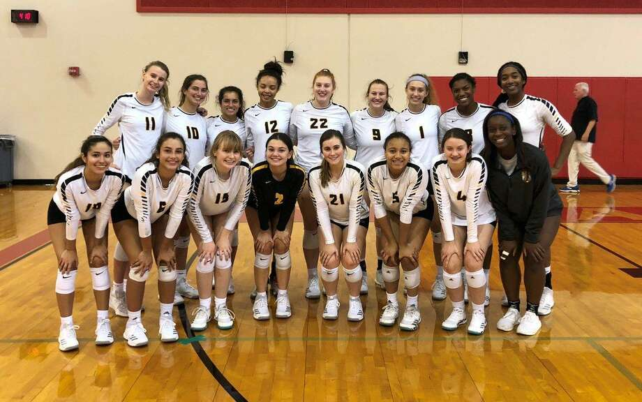 The St. Agnes Academy volleyball team earned four all-state spots in TAPPS 6A after a 26-22 season that included a runner-up finish in District 4-6A and a state semifinal appearance.