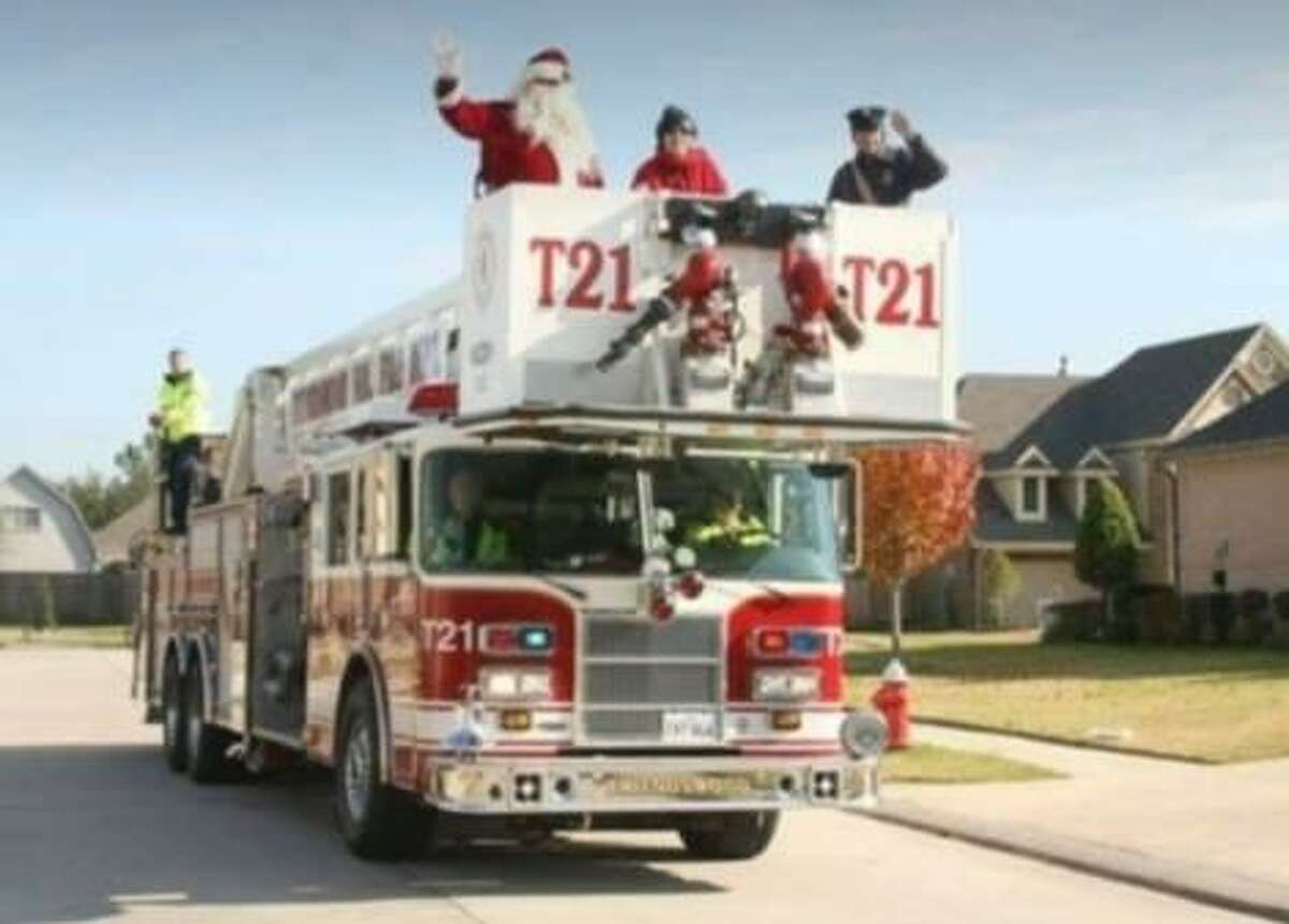 Santa Claus will tour Friendswood streets with firefighters on Dec. 15.