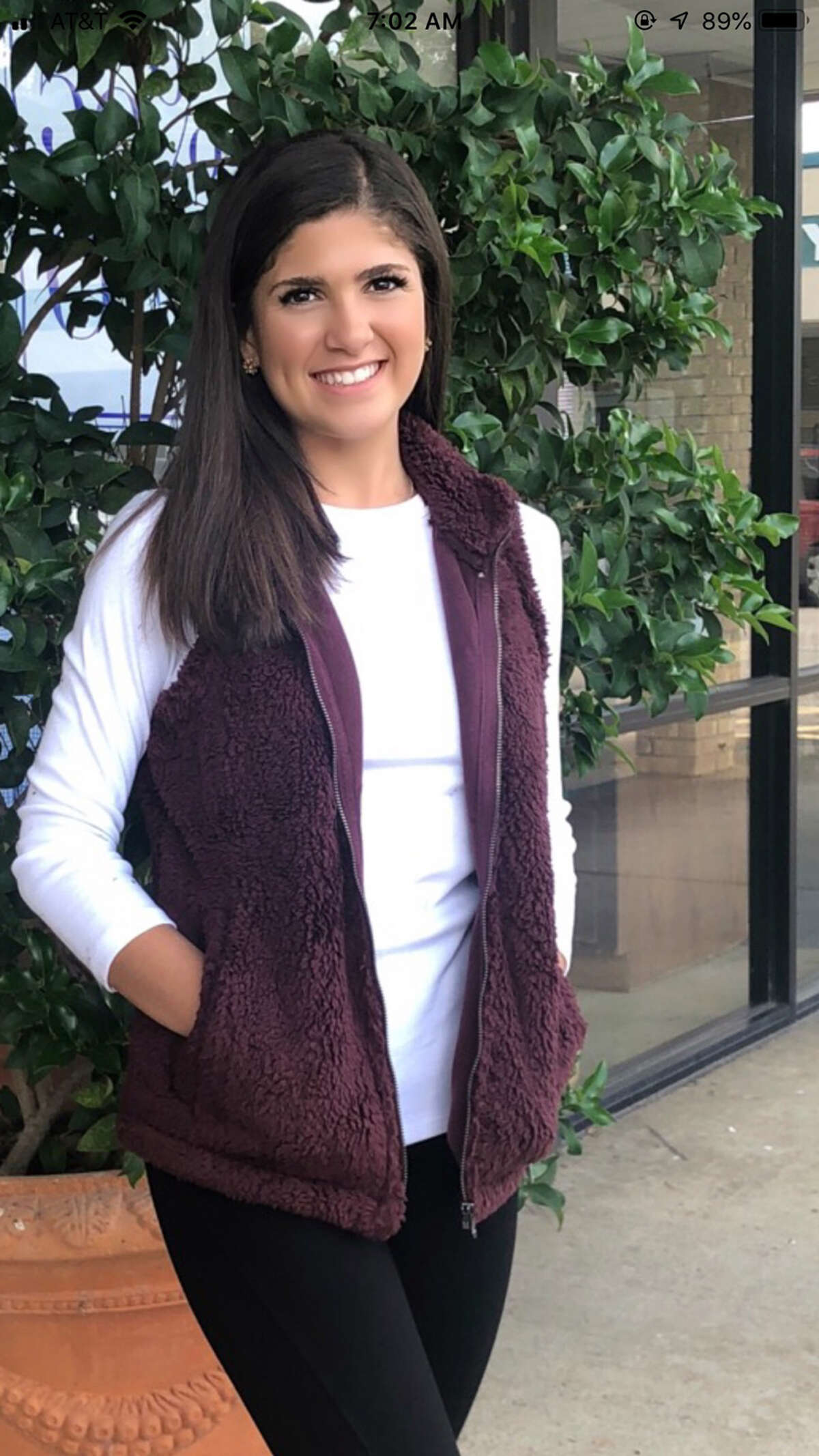 Dylan Polar Fleece Vest by True Grit can be dressed up or down. It's super soft and available in colors such as oatmeal, ice blue, burgundy and black. There's a size for your beloved, and she'll love it at Gingham and Pearls, 4393 Calder Ave.