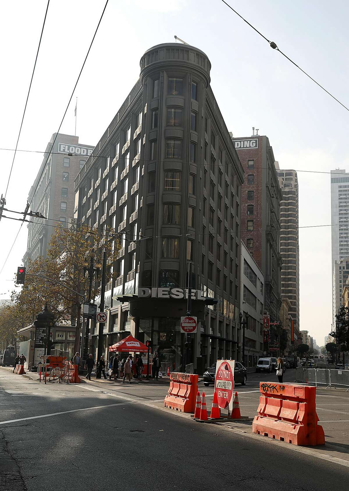 View of the bay area WeWork HQ's seen at 800 Market St. on Tuesday, Nov. 20, 2018, in San Francisco, Calif.