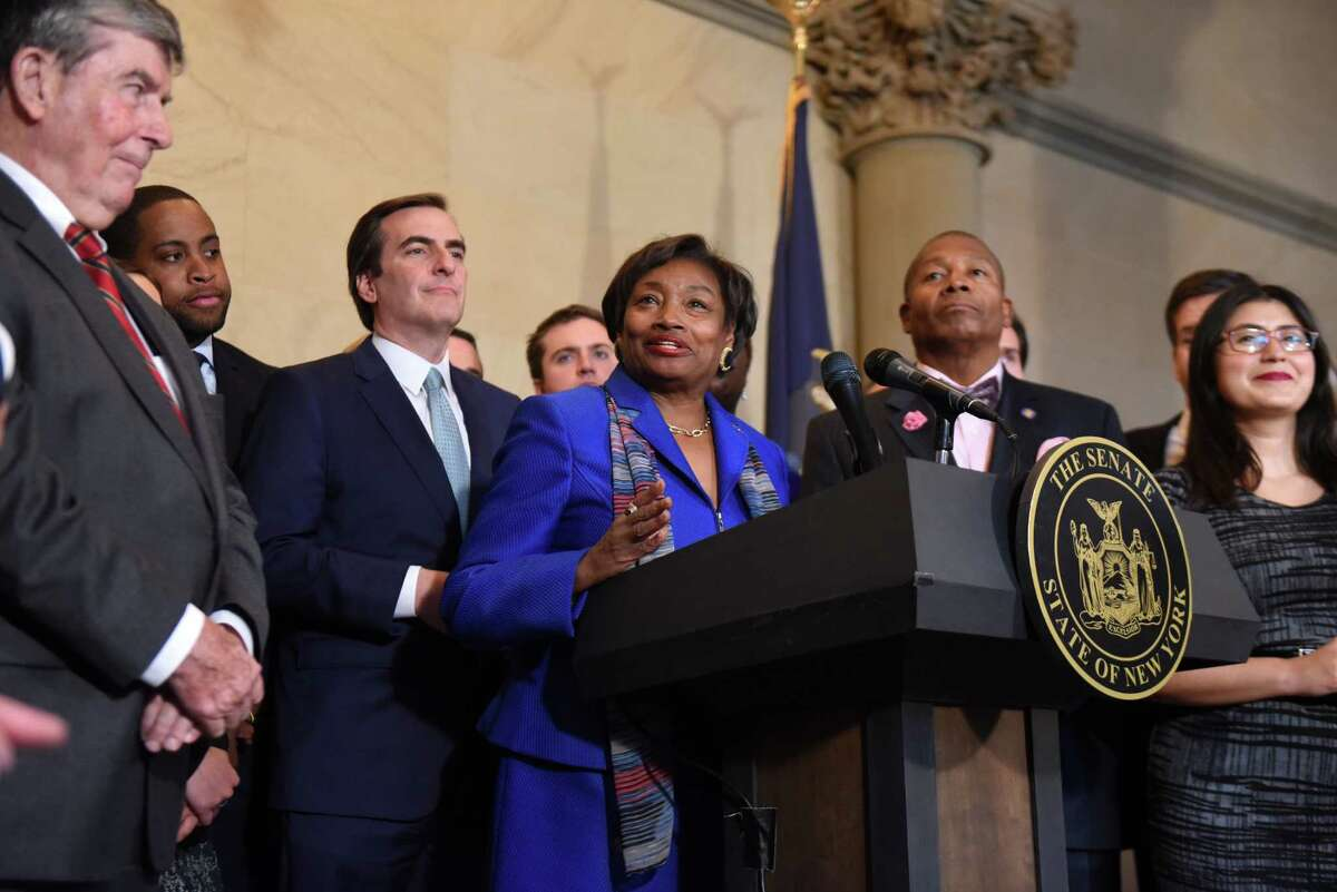Democrats are ascending to the majority of the state Senate in January, but it's likely they'll only get a minority of the chamber's four appointments to the state's ethics oversight commission. (Will Waldron/Times Union)