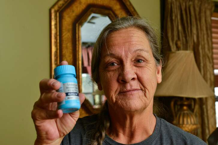 As Hepititus C drugs get more expensive in the United States, Nancy Monk gets hers from a buyers club in India.