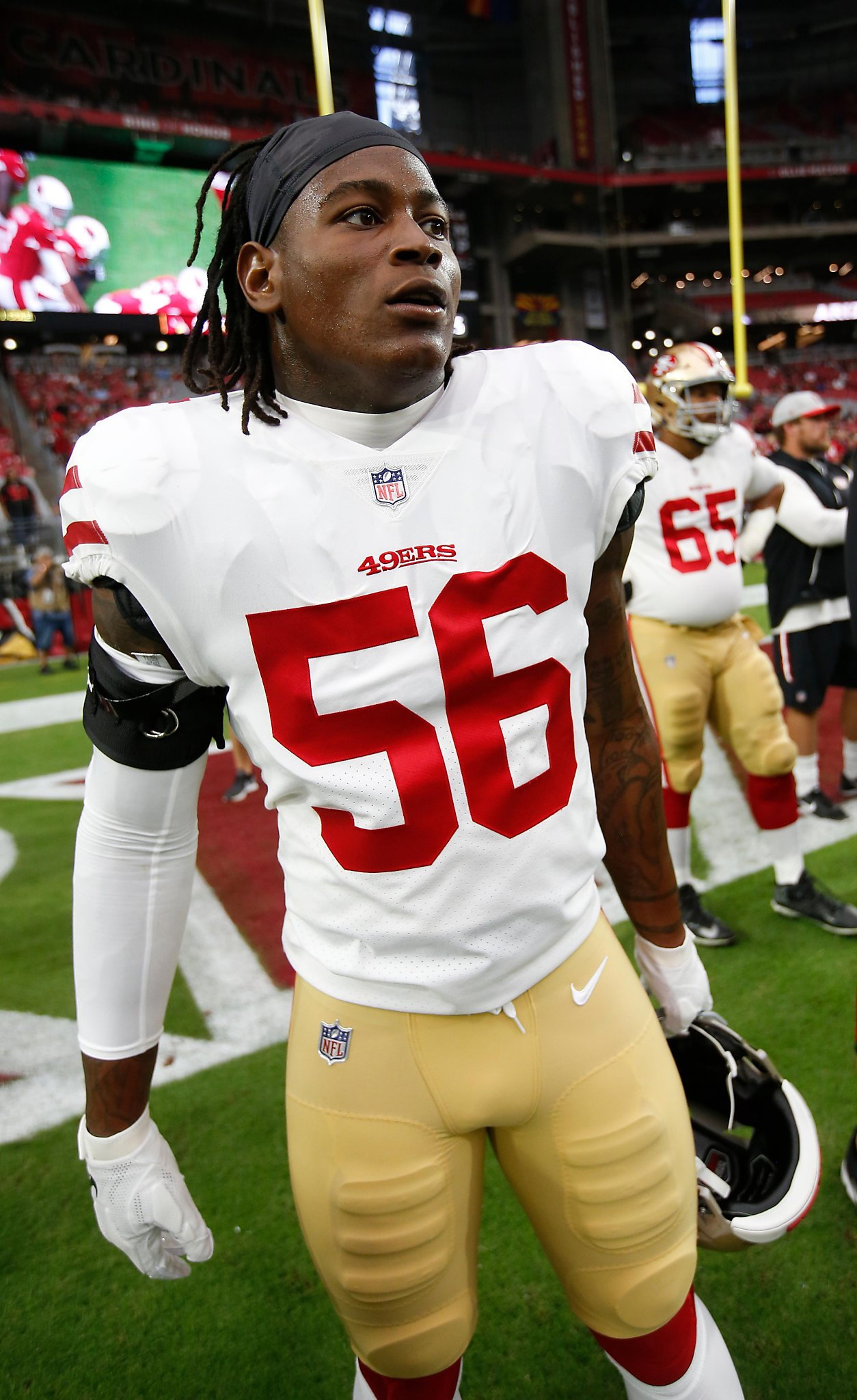5495f3560 NFL placing Reuben Foster on paid leave means it s unlikely he ll play any  time soon