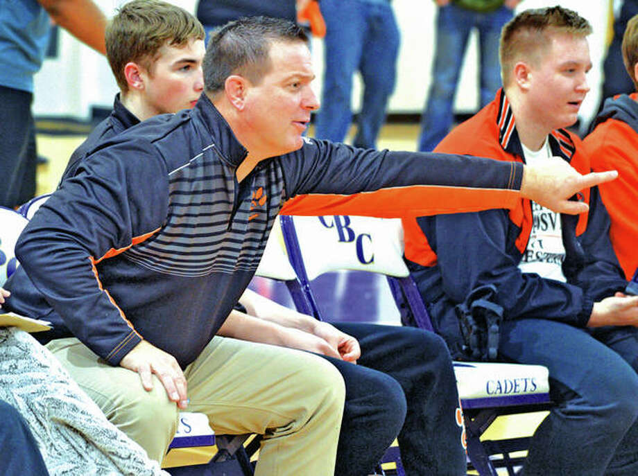 Edwardsville wrestling coach Jon Wagner will be part of the Illinois Wrestling Coaches and Officials Association's 2019 Hall of Fame class. Photo: Matt Kamp | For The Telegraph