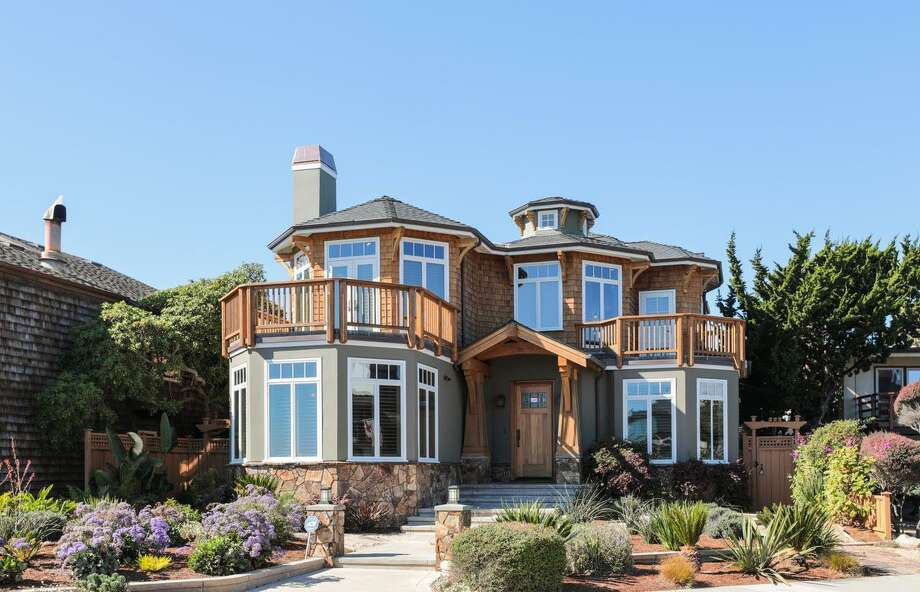 Like brand new, this home offers unobstructed Monterey Bay view from Santa Cruz's West Cliff, asking $4.4M Photo: Matthew Anello/ Blue Sky Media