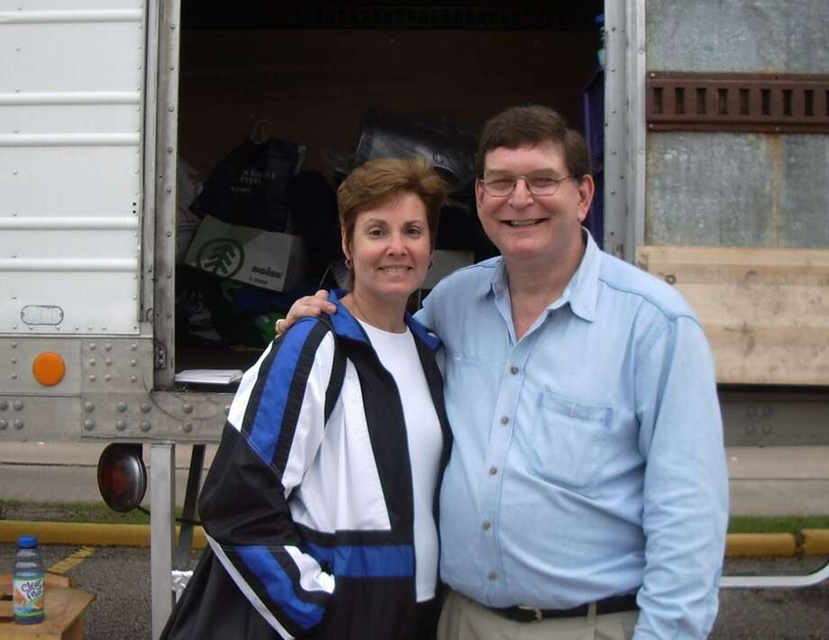 Shelly and Ed Gardner are helping to organize a citywide clothing, toy and food drive. Ed is CPA Project Chairman and founder of this project. The drive will be Dec. 2 at the Evelyn Rubenstein Jewish Community Center of Houston. Photo: Ed Gardner / Ed Gardner